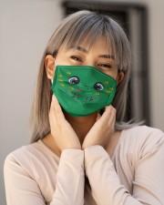 Super Turtle Face Mask 2505 Cloth face mask aos-face-mask-lifestyle-17