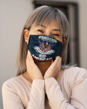I am grumpy veteran Cloth face mask aos-face-mask-lifestyle-17