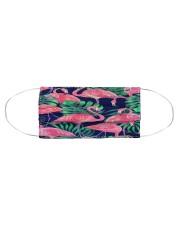 Flamingo Face Mask 12 Cloth face mask aos-face-mask-coverlet-lifestyle-front-01