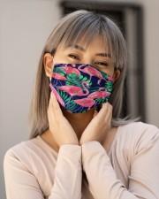 Flamingo Face Mask 12 Cloth face mask aos-face-mask-lifestyle-17