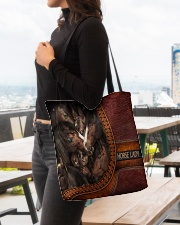 Horse Lady 1 All-over Tote aos-all-over-tote-lifestyle-front-04