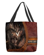 Horse Lady 1 All-over Tote back