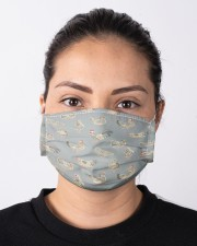 Super Chicken Face Mask 6 Cloth face mask aos-face-mask-lifestyle-01