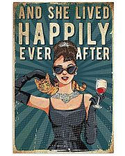 And She Lived Happily Cat 11x17 Poster front