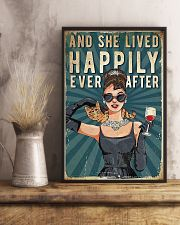 And She Lived Happily Cat 11x17 Poster lifestyle-poster-3