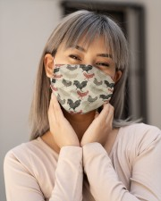 Super Chicken Face Mask 1 Cloth face mask aos-face-mask-lifestyle-17