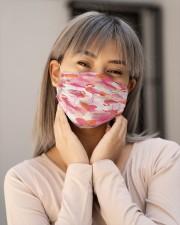 Flamingo Face Mask 15 Cloth face mask aos-face-mask-lifestyle-17