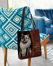 Bulldog Lady 3 All-over Tote aos-all-over-tote-lifestyle-front-01