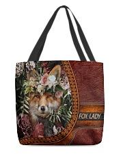 Fox Lady All-over Tote back