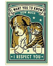 I Respect You 11x17 Poster front