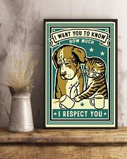 I Respect You 11x17 Poster lifestyle-poster-3