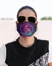Flamingo Face Mask 6 Cloth face mask aos-face-mask-lifestyle-02