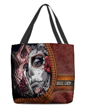 Skull Lady All-over Tote back