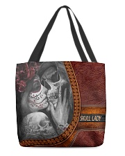 Skull Lady 2 All-over Tote front
