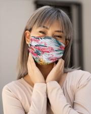 Flamingo Face Mask 3 Cloth face mask aos-face-mask-lifestyle-17