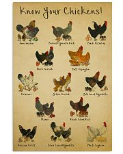 Chickens Poster 11x17 Poster front