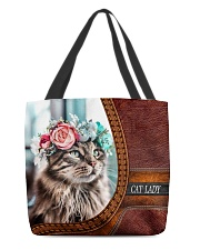 Cat Lady 3 All-over Tote back