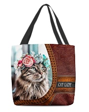 Cat Lady 3 All-over Tote front