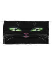 Cat Face Mask 10046 Cloth face mask front