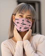 Flamingo Face Mask 28 Cloth face mask aos-face-mask-lifestyle-17