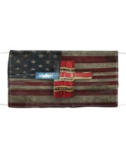 America cross Cloth face mask front