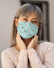 Flamingo Face Mask 10 Cloth face mask aos-face-mask-lifestyle-17