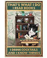 I Drink Cocktails 11x17 Poster front