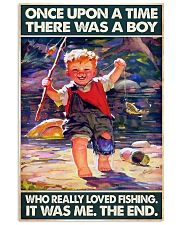 Once Upon A Time There Was A Boy Fishing 11x17 Poster front