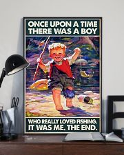 Once Upon A Time There Was A Boy Fishing 11x17 Poster lifestyle-poster-2