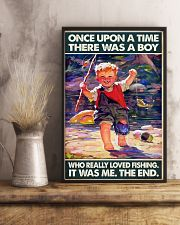 Once Upon A Time There Was A Boy Fishing 11x17 Poster lifestyle-poster-3