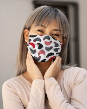 Super Chicken Face Mask 8 Cloth face mask aos-face-mask-lifestyle-17