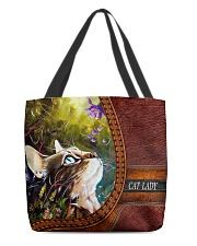 Cat Lady 2 All-over Tote front