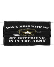 Army Don't Mess Cloth face mask front