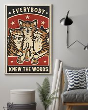 Every Body Knew The Words 11x17 Poster lifestyle-poster-1