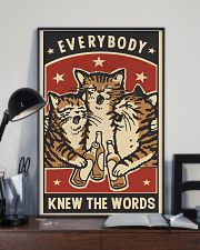 Every Body Knew The Words 11x17 Poster lifestyle-poster-2