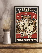 Every Body Knew The Words 11x17 Poster lifestyle-poster-3