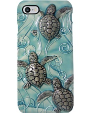 Turtle Phone Case  ceramic Lucky Phone Case i-phone-8-case