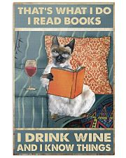 I Drink Wine 11x17 Poster front