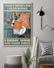 I Drink Wine 11x17 Poster lifestyle-poster-1