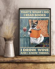 I Drink Wine 11x17 Poster lifestyle-poster-3