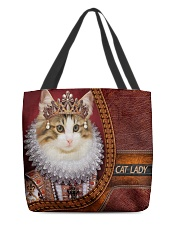 Cat Lady All-over Tote back