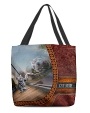 Cat mom 3 All-over Tote back