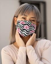 Flamingo Face Mask 14 Cloth face mask aos-face-mask-lifestyle-17