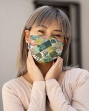 Flamingo Face Mask 5 Cloth face mask aos-face-mask-lifestyle-17