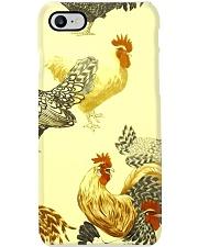 Chicken face mask 23 Phone Case tile