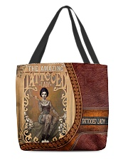 Tattooed Lady All-over Tote back