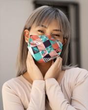 Flamingo Face Mask 7 Cloth face mask aos-face-mask-lifestyle-17