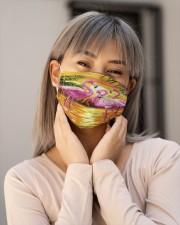 Flamingo Face Mask2 Cloth face mask aos-face-mask-lifestyle-17