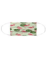 Flamingo Face Mask 31 Cloth face mask aos-face-mask-coverlet-lifestyle-front-01