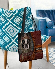 Bulldog Lady 5 All-over Tote aos-all-over-tote-lifestyle-front-01